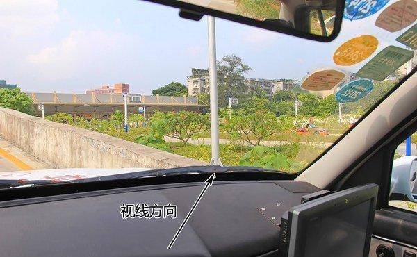 科目二坡道定点停车,怎么找停车时的那个点,新捷达车